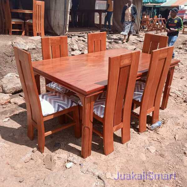 Mahogany 6 seater Dinning Set