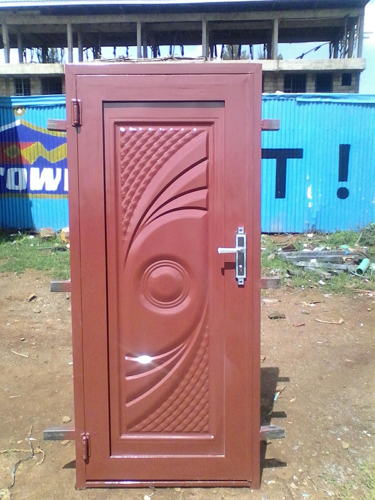 "single door 82""by36""plus lock"