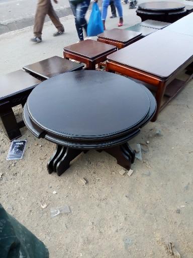 round coffee set