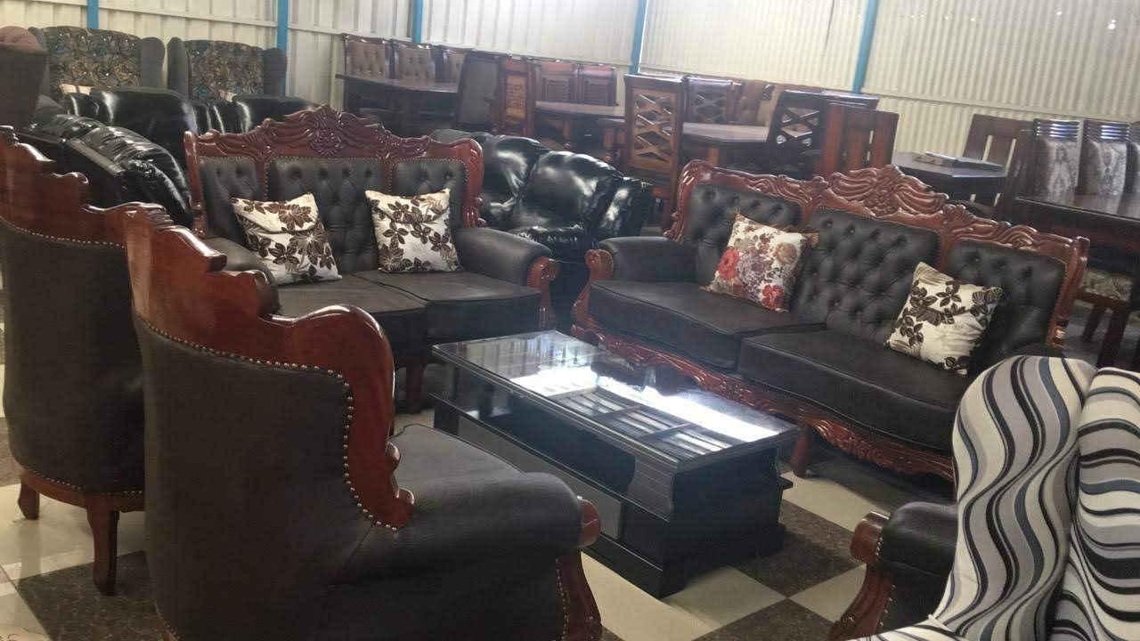 7 seater Antique Sofas
